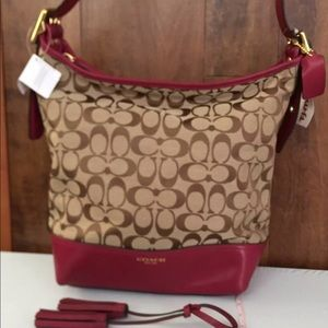 Coach Handbag Deep Port F25380 B4BV7 B1481